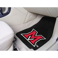 Miami of Ohio 2 Piece Front Car Mats