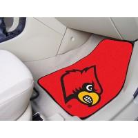 University of Louisville 2 Piece Front Car Mats