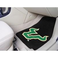 University of South Florida 2 Piece Front Car Mats