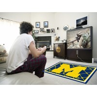 University of Michigan 4 x 6 Rug