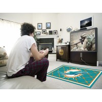 NFL - Miami Dolphins 4 x 6 Rug