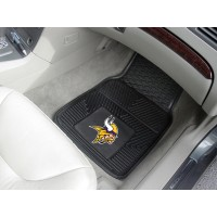 NFL - Minnesota Vikings Heavy Duty 2-Piece Vinyl Car Mats