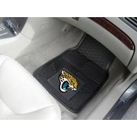 NFL - Jacksonville Jaguars Heavy Duty 2-Piece Vinyl Car Mats