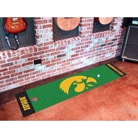 University of Iowa Golf Putting Green Mat