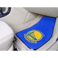 NBA - Golden State Warriors 2 Piece Front Car Mats