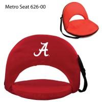 University of Alabama Printed Metro Seat Recliner Red