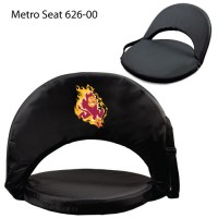 Arizona State Printed Metro Seat Recliner Black