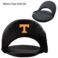 Tennessee University Knoxville Printed Metro Seat Recliner Black