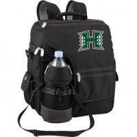 University of Hawaii Turismo Picnic Backpack - Black Digital Print