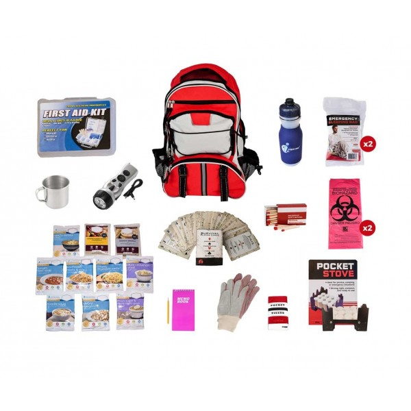 Long Term Food Storage Essentials Backpack Survival Kit by Guardian
