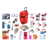 Guardian 4 Person Elite Rolling Duffle Survival Kit (72+ Hours)