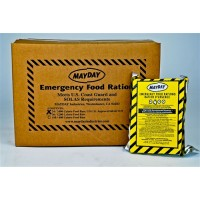 Mayday Emergency Food Ration 2400 Calorie Food Bar-24cs