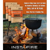 Instafire Fire Starter Trailblazer 3 Pack - 30 Year Shelf Life