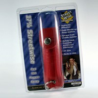 Pepper Spray - 17% Streetwise Red Hot Pepper Spray