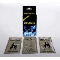 Utility Flame 3 Pack Plus Folding Stove