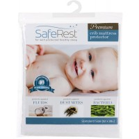 SafeRest Premium Waterproof Crib Mattress Protector
