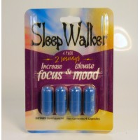 Sleep Walker - is Not For Sleeping - Increase Focus & Elevate Mood (4ea)(4pk)(Capsules)