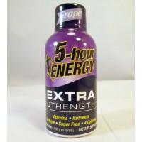5 Hour Energy - Extra Strength - Grape Flavor - (1.93oz/57ml)(1ea) (Samples)