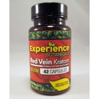 Experience Botanicals Fast Acting Red Vein Capsules (42) Same Great Product ~ Fresh New Look