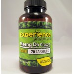 Experience Botanicals Fast Acting Maeng Da Capsules (70) Same Great Product ~ Fresh New Look