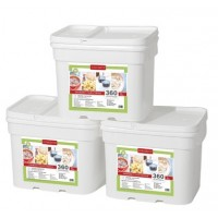 Lindon Farms 1080 Serving Breakfast/Lunch/Dinner Emergency Food Storage