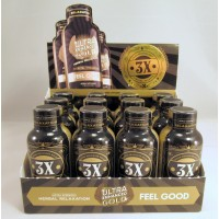 Ultra Enhanced Gold 3X - Herbal Supplement - Triple Strength (12)