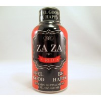 ZAZA Red - Energy Shot - Feel Good - Be Happy - 2.0 fl oz Bottle (60ml)(1)