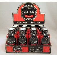 ZAZA Red - Energy Shot - Feel Good - Be Happy - 2.0 fl oz Bottle (60ml)(12)