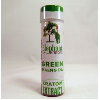Elephant Organics - Strongest Green Maeng Da Tincture Extract (1ea 7ml)