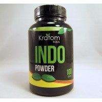 Kratom Kaps - INDO Powder (100gr) Bottle