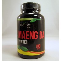 Kratom Kaps - Maeng Da Fine Powder (100gr) Bottle