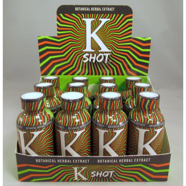 K Shot - Botanical Herbal Extract - 2oz Shot 60ml (12) NEW!