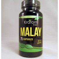 Kratom Kaps - Malay Capsules (75ct .5gr)