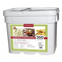 Lindon Farms 360 Serving Breakfast/Lunch/Dinner Emergency Food Storage