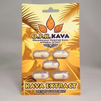 OPK Kava - Organically Purified Kava Botanical Extract - Capsules (5pk)