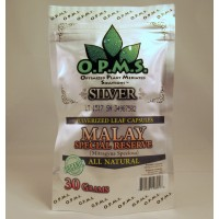 OPMS Silver Malay Special Reserve - All Natural Caps (30gm 60ea)