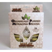 OPMS Silver Malay Special Reserve - All Natural Caps - Blister Pack (32ct .5gr)