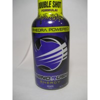 Rhino Rush Energy Drink - Grape with Ephedra (Samples)