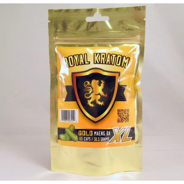 Royal Kratom Gold Maeng Da XL (65caps/32.5gm)