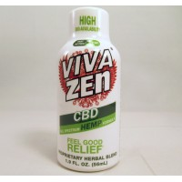 Vivazen CBD Full Spectrum Hemp Formula 1.9 fl.oz  / 56 ml Bottle (Sample)(1)