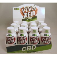 Vivazen CBD Full Spectrum Hemp Formula 1.9 fl.oz  / 56 ml Bottle
