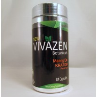 Vivazen Botanicals - Maeng Da - The Natural Way to Feel Good - Fast (84 Capsules)