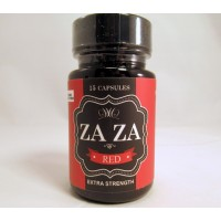 ZAZA Red Plus Extra Strength - Increase Alertness / Focus / Energy  -15 CT Bottle (15-700mg)