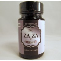 ZAZA Silver Extra Strength - Increase Alertness / Focus / Relaxation 15 CT Bottle (15-700mg)