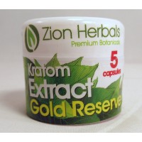 Zion Herbals 5 Caps Gold Reserve Extract