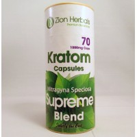 Zion Herbals Supreme Blend Capsules - Strictly the Best (70-1000mg Caps)