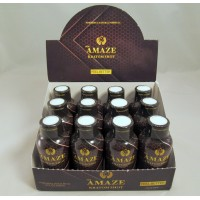 Amaze K Shot - Powerful Natural Formula - Feel Better (2oz)(12)