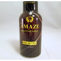 Amaze K Shot - Powerful Natural Formula - Feel Better (2oz)(1) Samples