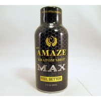 Amaze MAX K Shot - Powerful Natural Formula - Feel Better (2oz)(1) Samples
