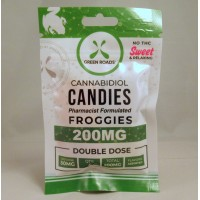 Green Roads CBD Froggies 200MG (4x50mg)
